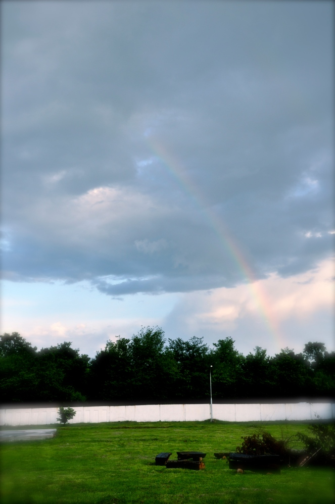 When God wants to surprise me, after a storm, He shows me the rainbow :) Thank you!