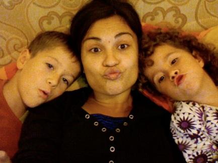 "when I miss ""kicu""(grandpa) and ""kica""(grandma), I know Skype delivers them my kisses"